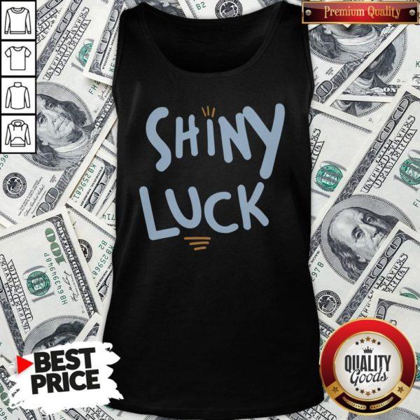 Cute Shiny Luck Tank Top