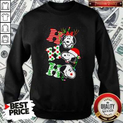 Cute Snoopy's Ho Ho Ho Merry Christmas 2020 SweatShirt