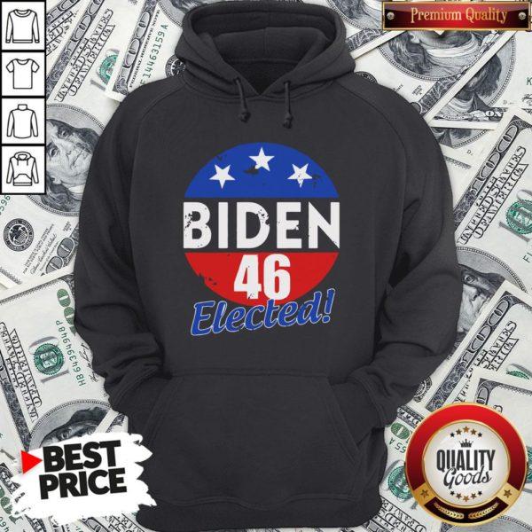 Funny Elected Celebrate Joe Biden 46th President 2020 Hoodie