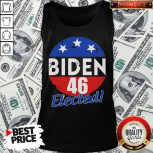 Funny Elected Celebrate Joe Biden 46th President 2020 Tank Top