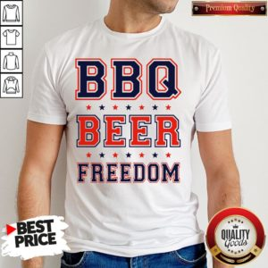 Good BBQ Beer Freedom Shirt