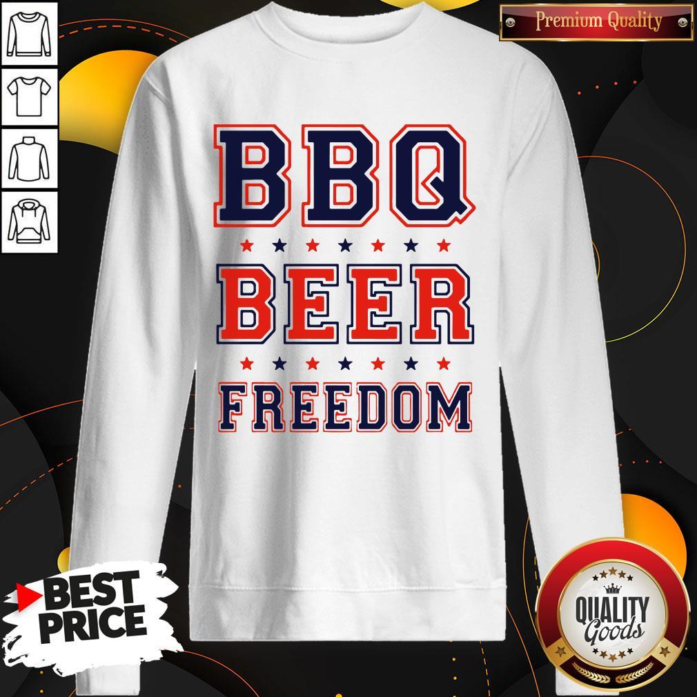Good BBQ Beer Freedom SweatShirt
