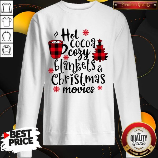 Good Cocoa Cory Blankets And Christmas Movie Christmas SweatShirt