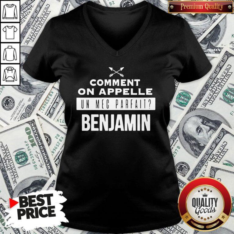 Good Comment On Appelle Un Mec Parfait Benjamin V-neck