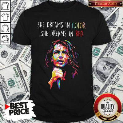 Good Eddie Vedder She Dreams In Color She Dreams In Red Shirt