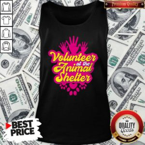 Hot Volunteer At The Animal Shelter Tank Top