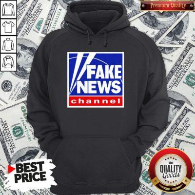 Nice Fake News Channel Hoodie