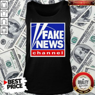 Nice Fake News Channel Tank Top