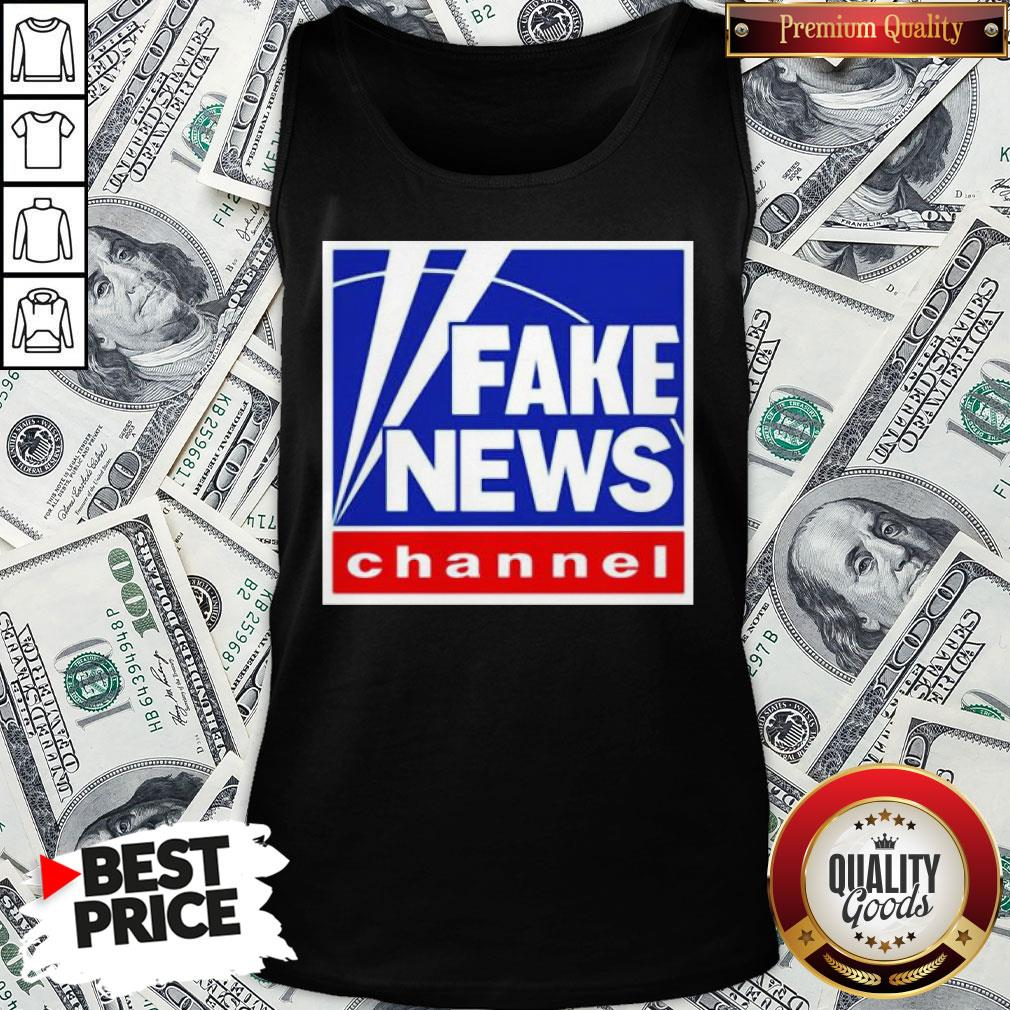 Nice Fake News Channel Tank Top