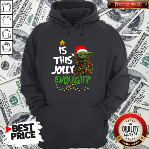 Official Santa Baby Yoda Is This Jolly Enough Christmas Hoodie