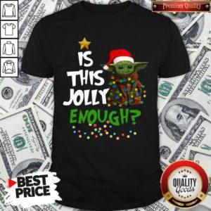 Official Santa Baby Yoda Is This Jolly Enough Christmas Shirt