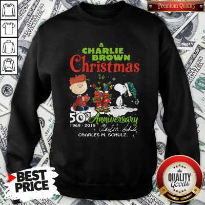 Official Snoopy And A Charlie Brown Christmas 50th Anniversary 1969-2019 SweatShirt