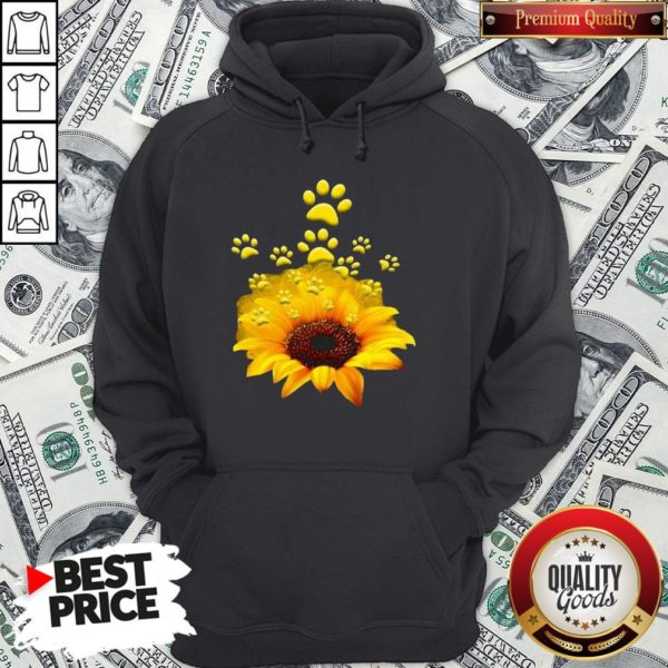 Official Sunflower Dog Funny Hoodie