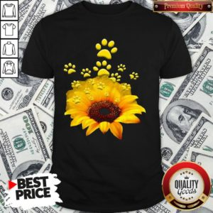 Official Sunflower Dog Funny Shirt