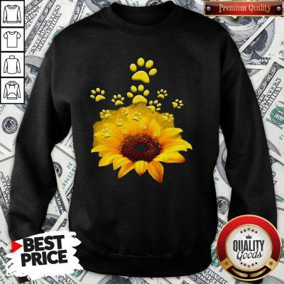 Official Sunflower Dog Funny SweatShirt