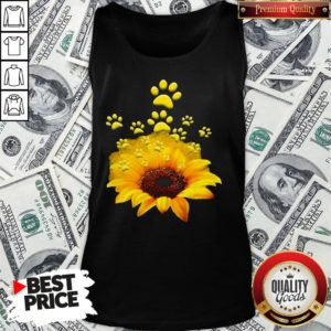 Official Sunflower Dog Funny Tank Top