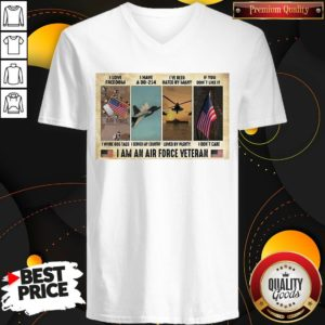 Original I Love I Have A Dd 214 I've Been Hated By Many If You Don't Like It I Am An Air Force Veteran V-neck