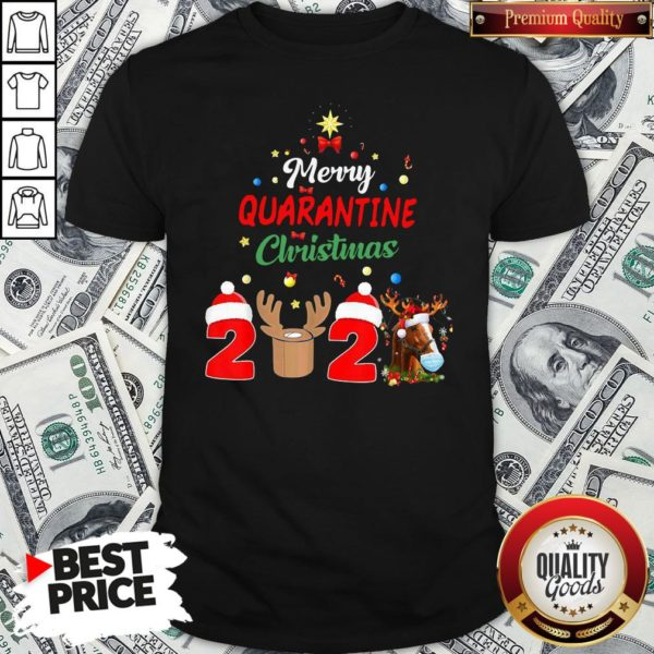 Perfect Merry Quarantine Christmas 2020 Shirt