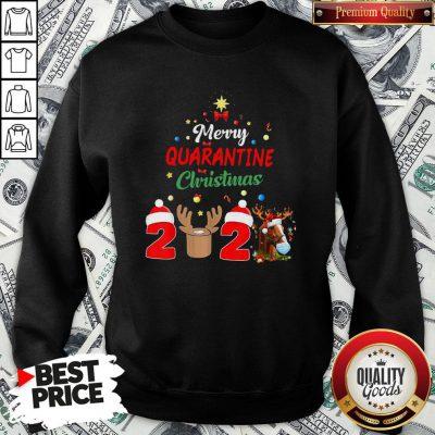 Perfect Merry Quarantine Christmas 2020 SweatShirt