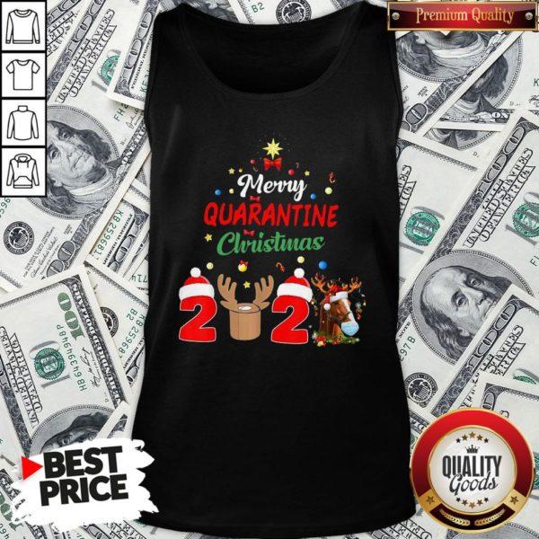 Perfect Merry Quarantine Christmas 2020 Tank Top