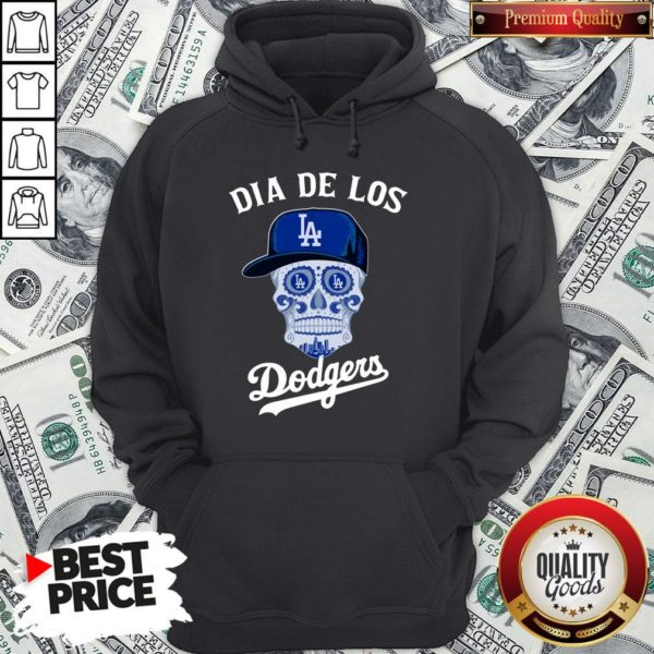 Premium Dia De Los Los Angeles Dodgers Hoodie