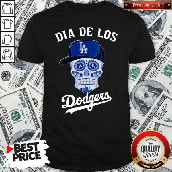 Premium Dia De Los Los Angeles Dodgers Shirt