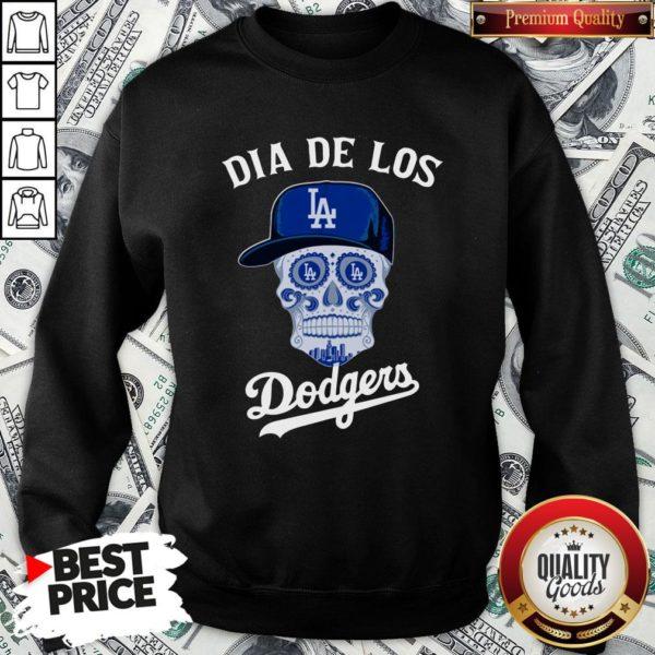 Premium Dia De Los Los Angeles Dodgers SweatShirt