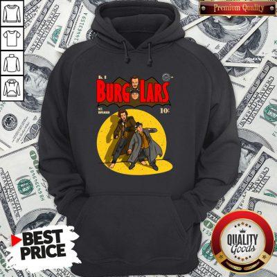 Premium No 8 Burglars Oct November Hoodie