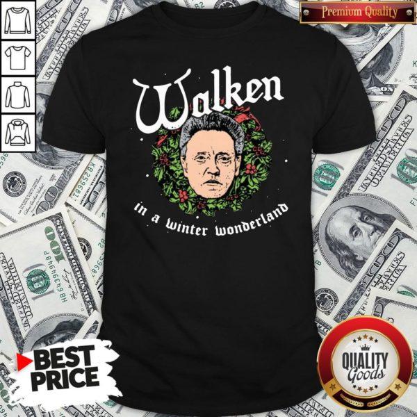 Pretty Walken In A Winter Wonderland Shirt