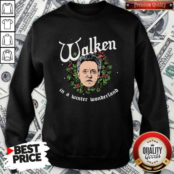 Pretty Walken In A Winter Wonderland SweatShirt