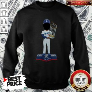 Top Dave Roberts Los Angeles Dodgers 2020 World Series Champions SweatShirt