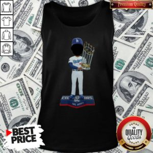 Top Dave Roberts Los Angeles Dodgers 2020 World Series Champions Tank Top