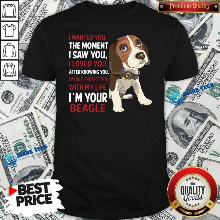 Beagle Wanted I Wanted You The Moment I Saw You I Loved You After Knowing You Shirt- Design By Waretees.com
