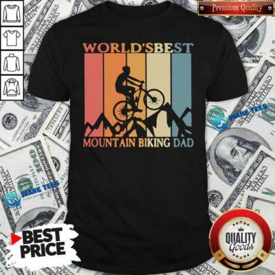 Best Mtb Dad Ever Shirt- Design by Waretees.com
