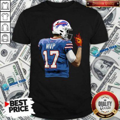 Buffalo Bills Josh Allen Hot Hand Shirt- Design by Waretees.com