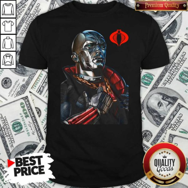 Destro Classic Pose Gi Joe 2020 T-shirt - Design By Waretees.com