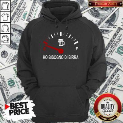 Energy Ho Bisogno Di Birra Hoodie - Design By Waretees.com