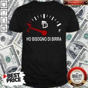 Awesome Energy Ho Bisogno Di Birra Shirt - Design By Waretees.com