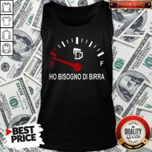 Energy Ho Bisogno Di Birra Tank Top - Design By Waretees.com
