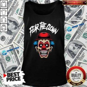 Fear The Clown Tank-Top- Design by Waretees.com