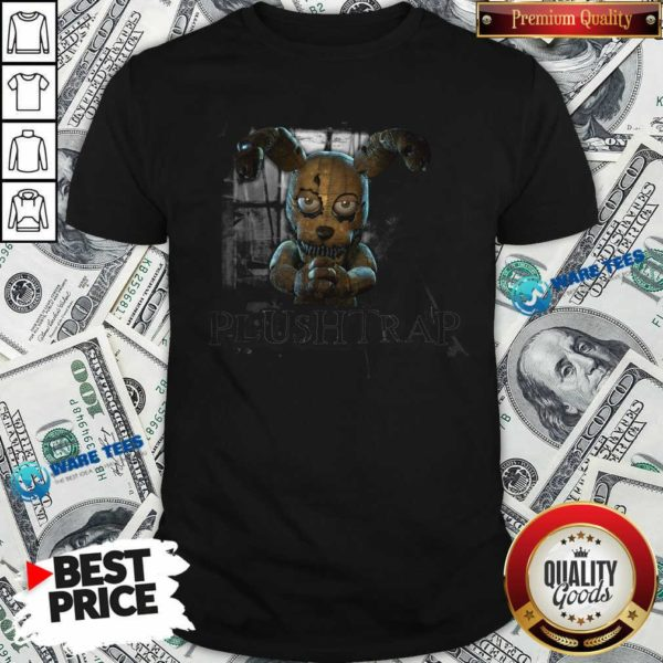 Fnaf Ar Merch Store Hello My Friend Plushtrap Shirt- Design by Waretees.com