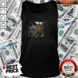 Fnaf Ar Merch Store Hello My Friend Plushtrap Tank-Top- Design by Waretees.com