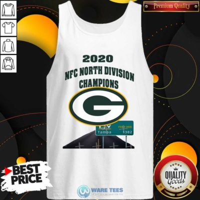 Green Bay Packers 2020 Nfc North Division Champions Tampa Tank-Top- Design by Waretees.com