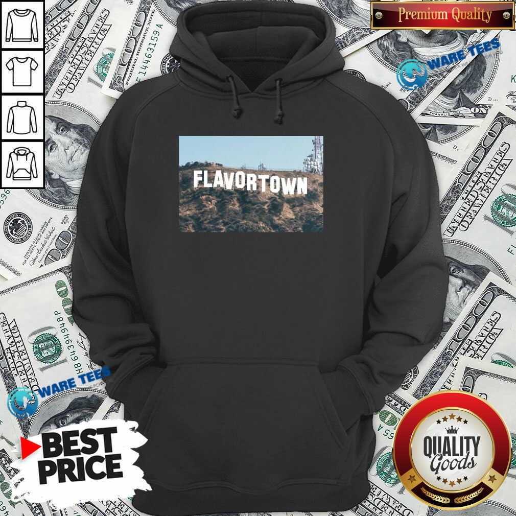 Guy Fieri Merch Flavortown Sign Hoodie- Design by Waretees.com