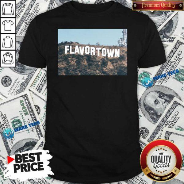 Guy Fieri Merch Flavortown Sign Shirt- Design by Waretees.com