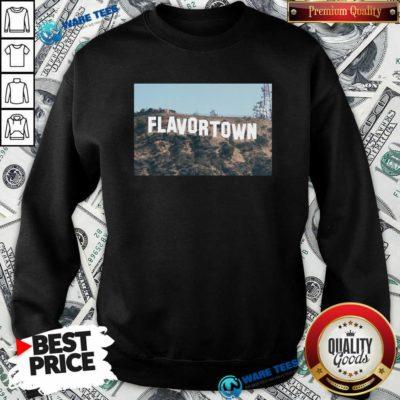 Guy Fieri Merch Flavortown Sign Sweatshirt- Design by Waretees.com