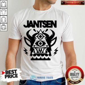 Awesome Jantsen Merch Monster Shirt - Design by Waretees.com