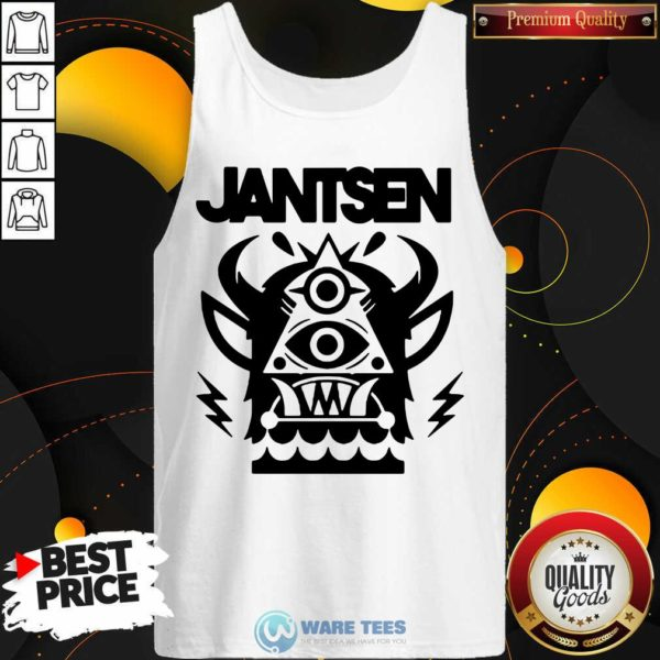 Awesome Jantsen Merch Monster Tank Top - Design by Waretees.com
