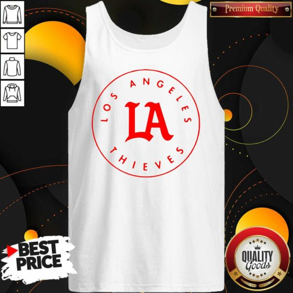 Awesome Los Angeles Thieves Tank Top - Design by Waretees.com
