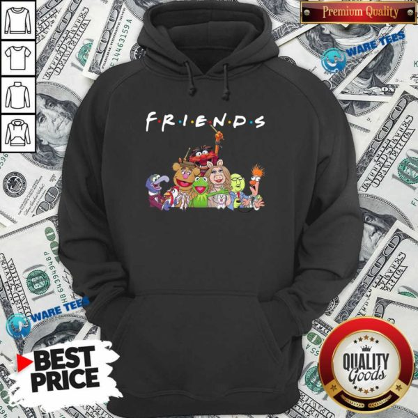 Muppet Friends Hoodie- Design By Waretees.com